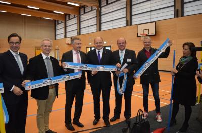 """Seit heute heißt es wieder """"Sport frei!"""" in der OSZ-Sporthalle."""