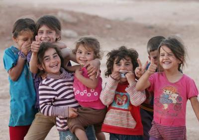 """Vorschaubild zur Meldung: Ausstellung """"Vulnerable souls - verletzliche Seelen. Kindheit im Flüchtlingscamp Zaatari in Jordanien"""""""
