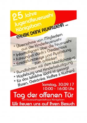 Foto zu Meldung: 25 Jahre Jugendfeuerwehr Königsborn