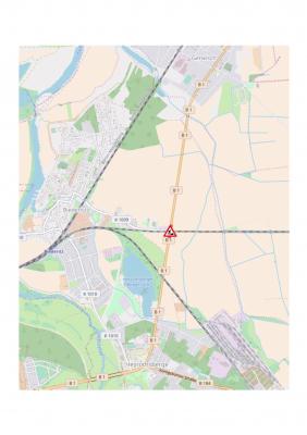 Foto zu Meldung: Halbseitige Sperrung des Bahnüberganges B1/Woltersdorfer Straße