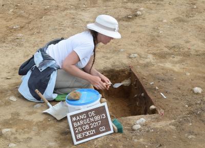 Foto zu Meldung: Wer gräbt denn da? – Tag des offenen Ausgrabungsplatzes am 16. September