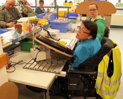 Vorschaubild zur Meldung: Zu Gast in den Christophorus-Werkstätten zum Tag des besonderen Unternehmens