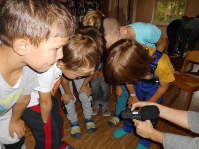 Vorschaubild zur Meldung: Unsere Schulanfänger haben ihren eigenen Trickfilm gebaut!