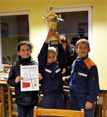 Siegermannschaft - Jugendfeuerwehr Wahlwinkel