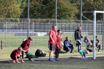 Foto zur Meldung: Sieg für die D- Junioren