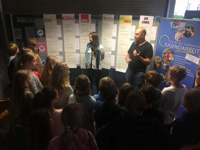 Vorschaubild zur Meldung: Dreisamtal: Kinder und Jugendliche haben ihren Bundestag gewählt!
