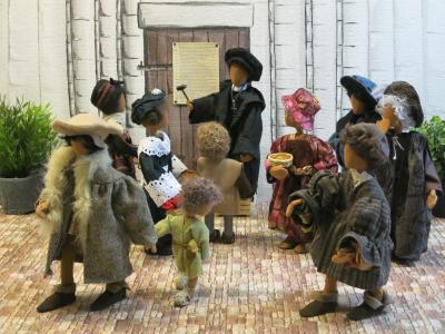 Vorschaubild zur Meldung: Noch bis zum 27. Oktober > Ausstellung in der St. Sixti-Kirche > Die Luther-Story