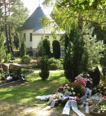 Vorschaubild zur Meldung: Andacht zum Ewigkeitssonntag in der Kapelle auf dem Waldfriedhof. Am 26. November 2017 um 14 Uhr.