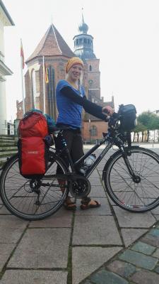 Foto zu Meldung: 2.400 Kilometer mit dem Rad durch Deutschland