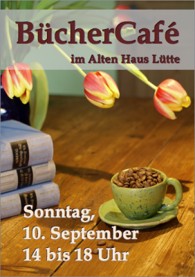 Büchercafé zum Tag des Offenen Denkmals
