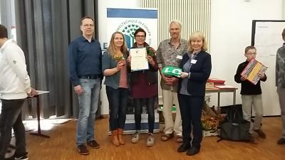 Vorschaubild zur Meldung: Wir sind Umweltschule! - Die Auszeichnung zur Umweltschule ist im Schuljahr 2017/18 erfolgt