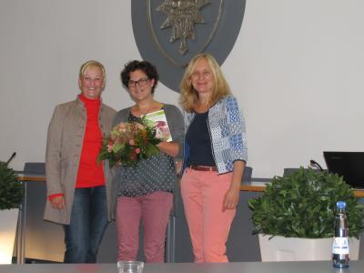 Catrin Witt, Natalie Frevert, Eva von Löbbecke