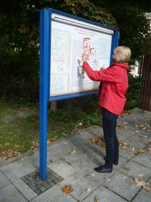 Foto zur Meldung: Graffiti-Beseitigung