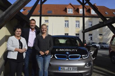 Foto zu Meldung: Gemeindeverwaltung Schipkau testet Elektroauto