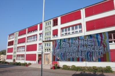 Foto zu Meldung: Marcus-Schule feiert den 25. Jahrestag der Namensgebung