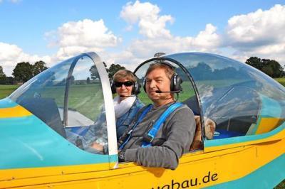 Foto zur Meldung: Flugbetrieb in Freyenstein