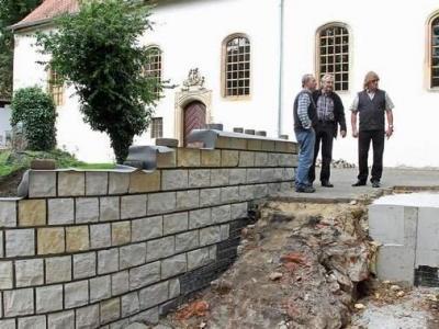 Vorschaubild zur Meldung: Diskussion um Kirchenmauer beendet
