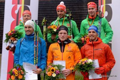 Foto zur Meldung: Deutsche Meisterschaften Biathlon