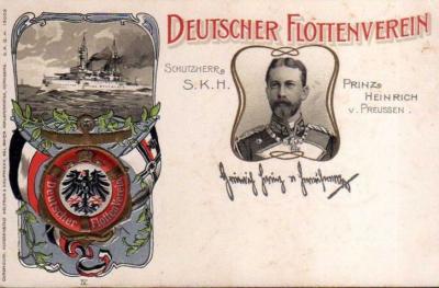 Foto zur Meldung: Vor 105 Jahren: Der Flottenverein für Bornhöved und Umgegend