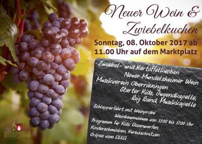 Vorschaubild zur Meldung: Neuer Wein und Zwiebelkuchen 2017