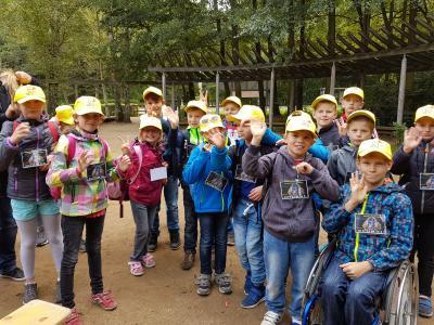 Foto zur Meldung: Besuch des Cottbusser Zoos