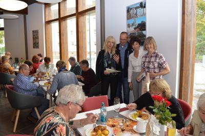 Waren bei der Premiere die Gastgeber: Manuela Materok und Carsten Zieris (beide DLG), Dr. Marion Grigoleit und Yvonne Prochnow (v. l.)