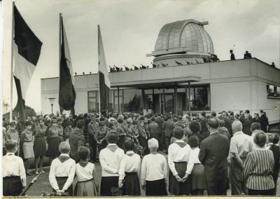 Foto der Einweihungsfeier vom 03.09.1967
