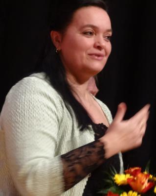 Foto zu Meldung: Simone Meuche erhält Bundesverdienstkreuz