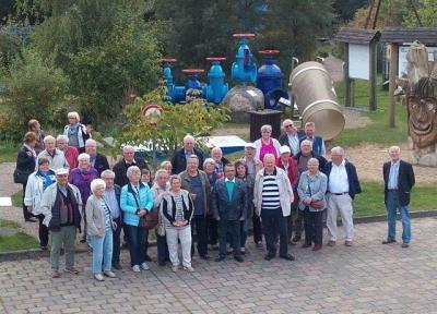 Foto zur Meldung: Senioren Bildungsreise zum Wasserlehrpfad