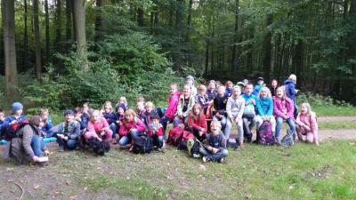 Foto zur Meldung: Biberwanderung Forsthof Gädebehn