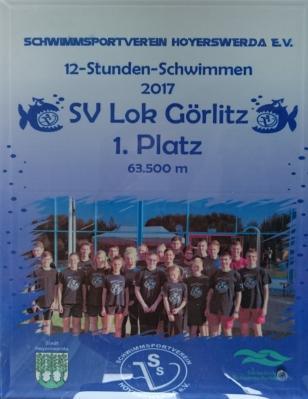 Foto zu Meldung: 12-Stunden-Schwimmen in Hoyerswerda
