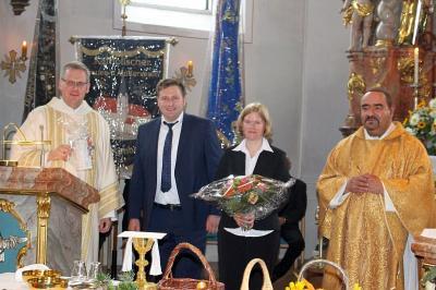 Vorschaubild zur Meldung: Erntedank und Amtseinführung des neuen ständigen Diakons Andreas Dieterle