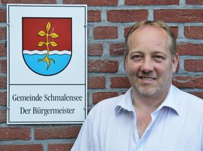 Foto zu Meldung: Beförderung: Sönke Siebke im Hauptausschuss des Segeberger Kreistags