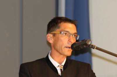 Präsident Stefan Wirbser wurde beim SVS-Verbandstag in Lahr für zwei weitere Jahre zum Präsidenten gewählt - Foto: Hahne