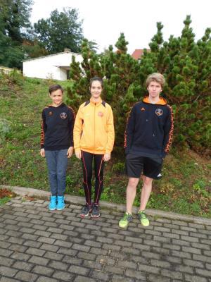 Jannis, Hannah und Eric