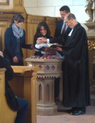 Foto zur Meldung: Gottesdienst mit Taufe