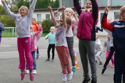 Foto zur Meldung: Lauf- und Soccertag