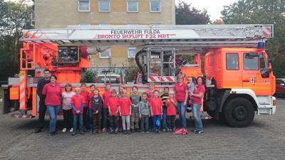 Vorschaubild zur Meldung: Besuch bei der Feuerwache Fulda