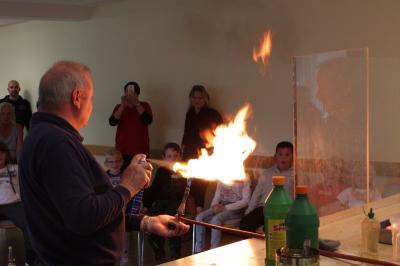 Vorschaubild zur Meldung: Brandschutzerziehung mit Robert Winkler