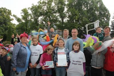 """Foto zur Meldung: Auszeichnung für Grundschule """"An der Burglehne"""" Gräfenroda"""