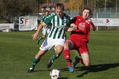 Foto zur Meldung: Die erste Mannschaft der SG besiegt den SV Bermatingen mit 2:1