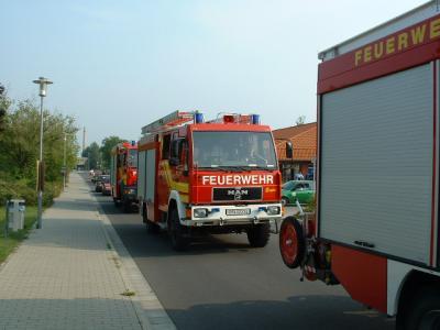 Vorschaubild zur Meldung: Großübung der Feuerwehren