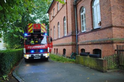 """Vorschaubild zur Meldung: Übung Feueralarm in der Kita """"Villa Märchenland"""" in Perleberg"""