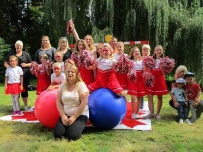 Vorschaubild zur Meldung: Cheerleadergruppe sucht Mitstreiter