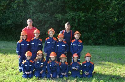 Vorschaubild zur Meldung: Kinder- und Jugendfeuerwehr der FFW Bad Sülze und Hugoldsdorf