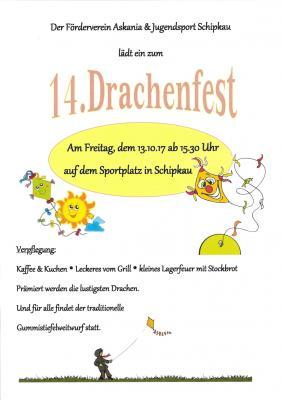 Vorschaubild zur Meldung: 14. Drachenfest im Ortsteil Schipkau