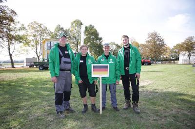 Foto von Heinz-Peter Gerth: Team Deutschland 1 mit Martin Braune (ganz links im Bild)