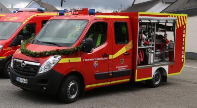 Foto zur Meldung: Neues Fahrzeug für die Liebshausener Feuerwehr