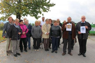 Foto zur Meldung: Senioren in der Heimat von Pfarrer Josef Drexler