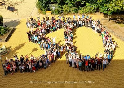 Foto zur Meldung: Festakt: 30 Jahre UNESCO-Projektschule